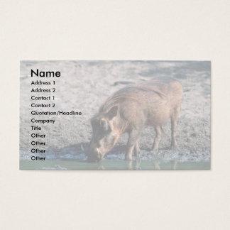 Warthog Business Card