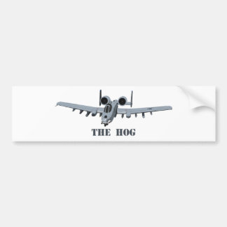 Warthog Car Bumper Sticker