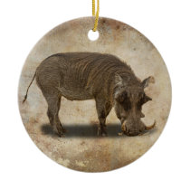 WARTHOG CERAMIC ORNAMENT