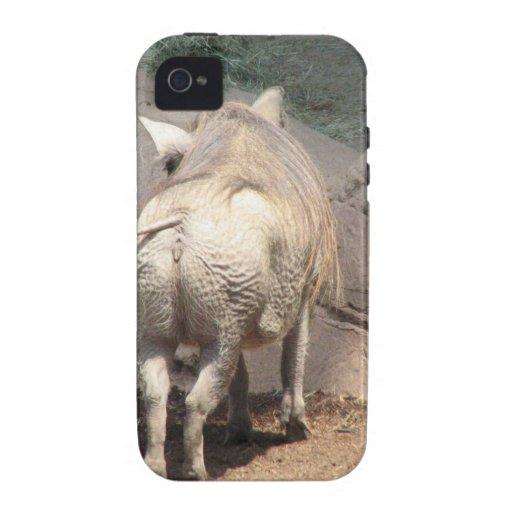 Warthog detrás iPhone 4/4S fundas