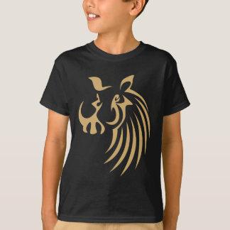 Warthog en estilo del dibujo del chasquido playera