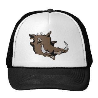 Warthog Head Trucker Hat