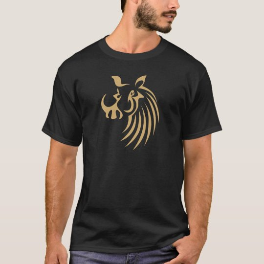 Warthog in Swish Drawing Style T-Shirt