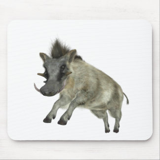 Warthog Jumping to Right Mouse Pad