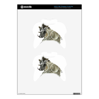 Warthog Jumping to Right Xbox 360 Controller Decal