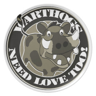 Warthog Love Dinner Plate
