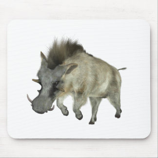Warthog Running to Right Mouse Pad
