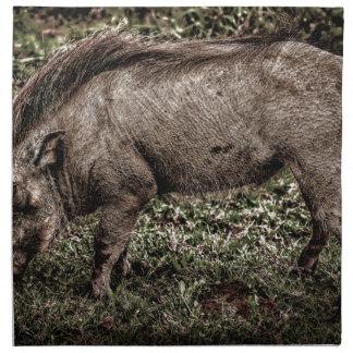 Warthog. Servilletas Imprimidas