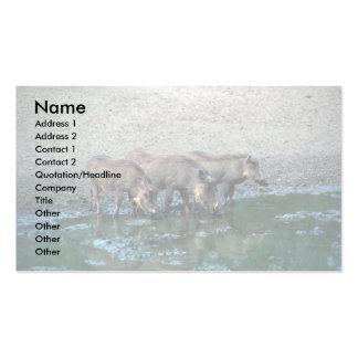 Warthogs Business Card