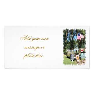 WARTIME PERSONALIZED PHOTO CARD