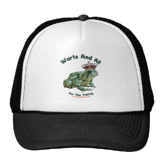 Warts and All Frog Toad Prince Hat