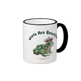 Warts Beautiful Frog Toad Prince Coffee Mugs
