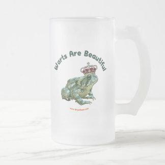 Warts Beautiful Frog Toad Prince Mug