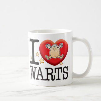Warts Love Man Coffee Mug