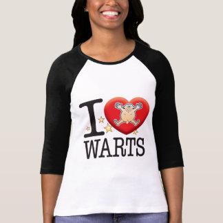 Warts Love Man Tee Shirt