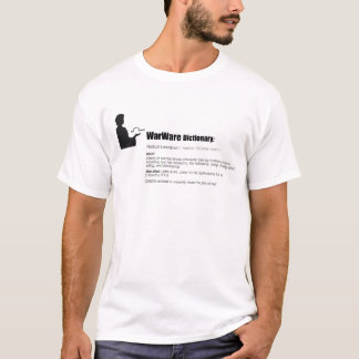 WarWare Dictionary Men's T-Shirt