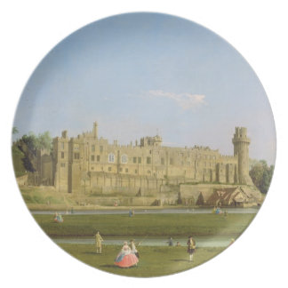 Warwick Castle, c.1748-49 (oil on canvas) Plates