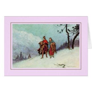 Warwick Goble Greeting Card