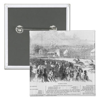 Warwick Races, from 'The Illustrated London Button