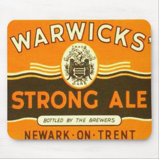 Warwick Strong Ale mat Mouse Pad