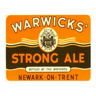Warwick Strong Ale Postcards