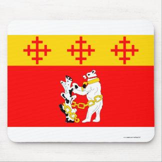 Warwickshire Flag Mousepads