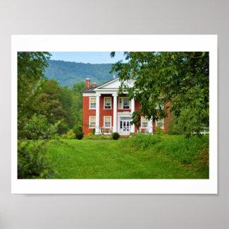 Warwickton Estate,Hidden Valley,Virginia Poster