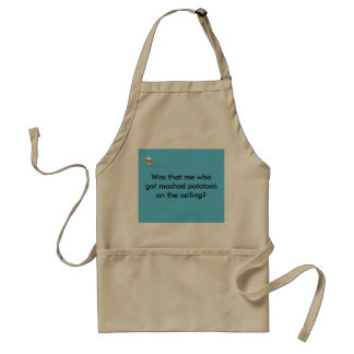 Was that me? adult apron