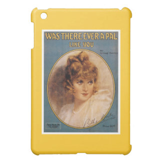 Was There Ever A Pal Like You Vintage Song Sheet iPad Mini Case