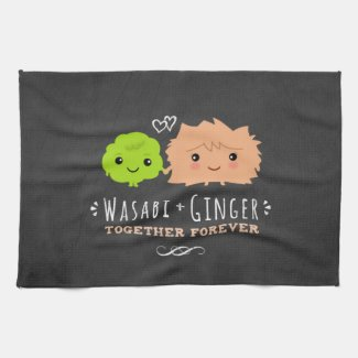 Wasabi and Ginger Kitchen Towel