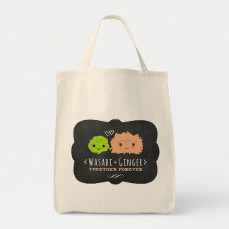 Wasabi and Ginger Together Forever Tote Bag