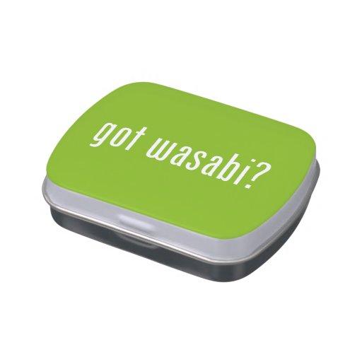 ¿wasabi conseguido? frascos de dulces
