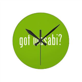 ¿wasabi conseguido? reloj de pared