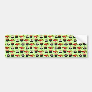 Wasabi Green Sushi Bumper Sticker