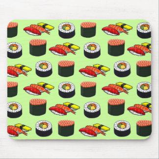 Wasabi Green Sushi Mouse Pad