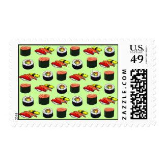 Wasabi Green Sushi Postage