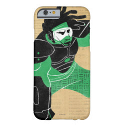 Case-Mate Barely There iPhone 6 Case with Hero Wasabi's Plasma Blades design