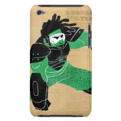 Case-Mate iPod Touch Barely There Case with Hero Wasabi's Plasma Blades design