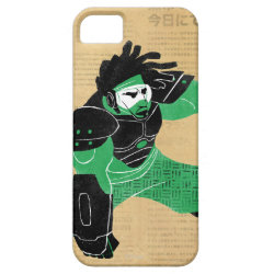 Case-Mate Vibe iPhone 5 Case with Hero Wasabi's Plasma Blades design