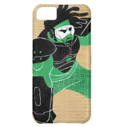 Case-Mate Barely There iPhone 5C Case with Hero Wasabi's Plasma Blades design