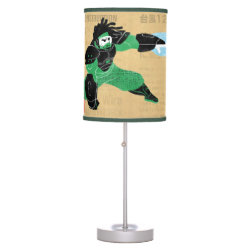 Table Lamp with Hero Wasabi's Plasma Blades design