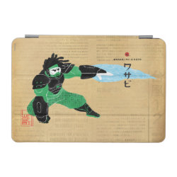 iPad mini Cover with Hero Wasabi's Plasma Blades design