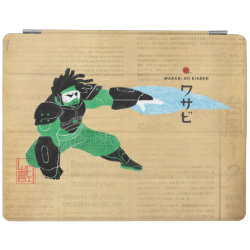 iPad 2/3/4 Cover with Hero Wasabi's Plasma Blades design