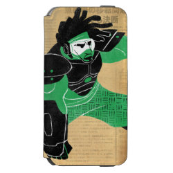 Incipio Watson™ iPhone 6 Wallet Case with Hero Wasabi's Plasma Blades design