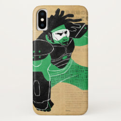 Case-Mate Barely There iPhone X Case with Hero Wasabi's Plasma Blades design