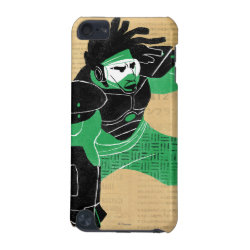 Case-Mate Barely There 5th Generation iPod Touch Case with Hero Wasabi's Plasma Blades design