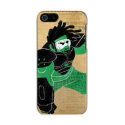 Hero Wasabi's Plasma Blades Incipio Feather Shine iPhone 5/5s Case