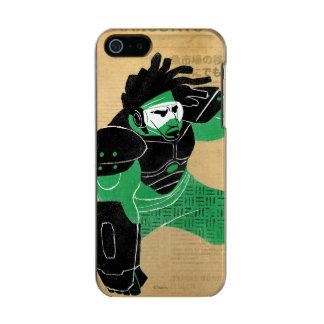 Wasabi Plasma Blades Metallic Phone Case For iPhone SE/5/5s