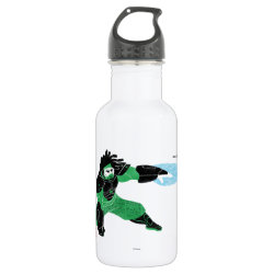 Water Bottle (24 oz) with Hero Wasabi's Plasma Blades design