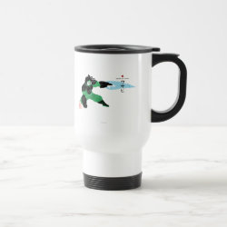 Travel / Commuter Mug with Hero Wasabi's Plasma Blades design